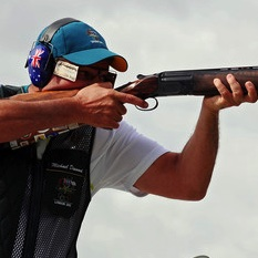 Photo: Shooting has been an Olympic sport since 1896 (it's also in the Winter Olympics) and Australia's Michael Diamond won Gold in the trap discipline in Atlanta in 1996 and in Sydney in 2000.