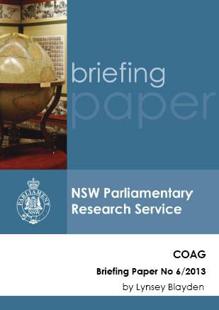 COAG: corrupting Australian governance