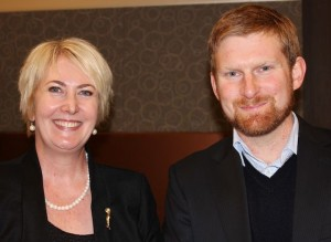 Kate O'Donnell of CEPS and Tim Vines