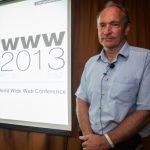 Pic: Sir Tim Berners-Lee: Alex Mikro photo
