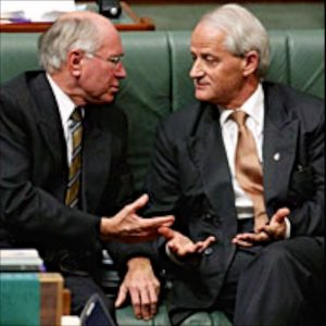 Photo: Howard and Ruddock in 2004 – The Age