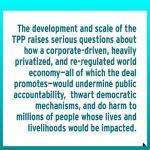 TPP: Corporations trump democracy