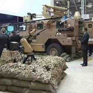 Photo: Weapons fair, London