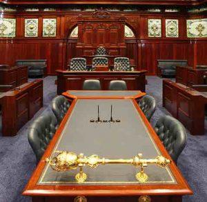 Photo show the WA Legislative Assembly.