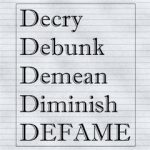 Defamation online…for beginners